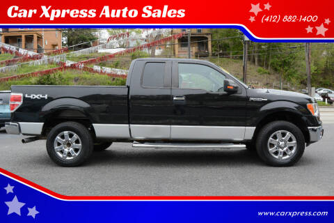 2013 Ford F-150 for sale at Car Xpress Auto Sales in Pittsburgh PA