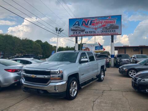 2016 Chevrolet Silverado 1500 for sale at ANF AUTO FINANCE in Houston TX