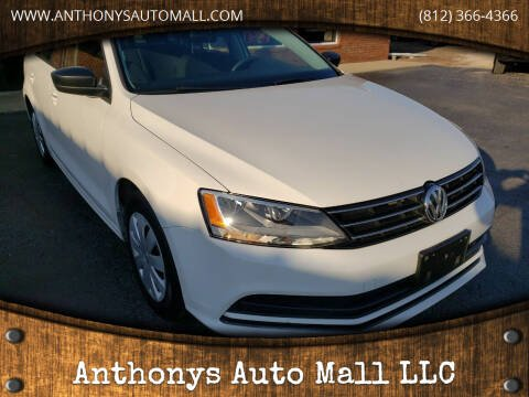 2016 Volkswagen Jetta for sale at Anthonys Auto Mall LLC in New Salisbury IN