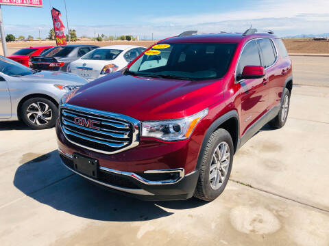 2018 GMC Acadia for sale at A AND A AUTO SALES in Gadsden AZ