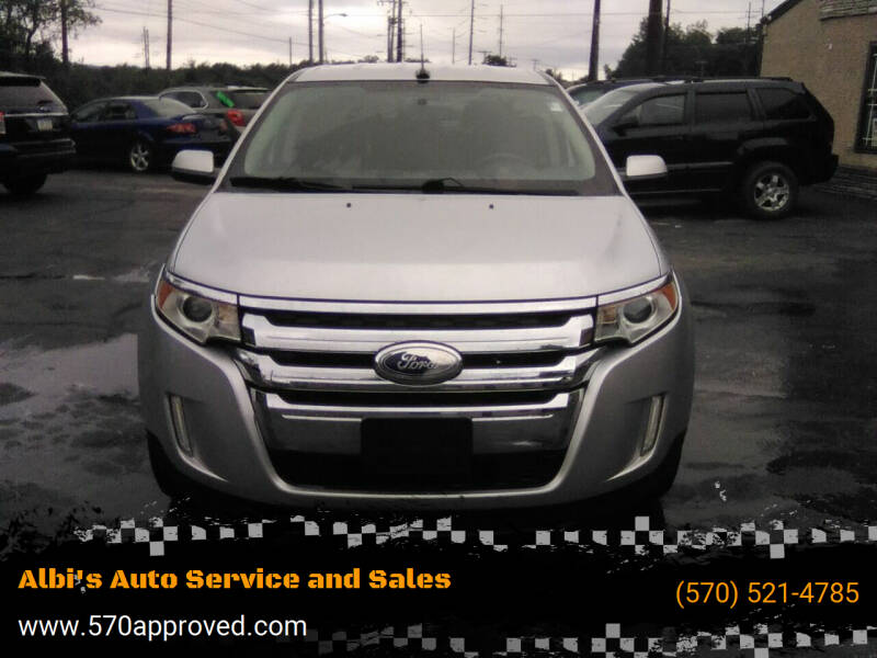2012 Ford Edge for sale at Albi's Auto Service and Sales in Archbald PA