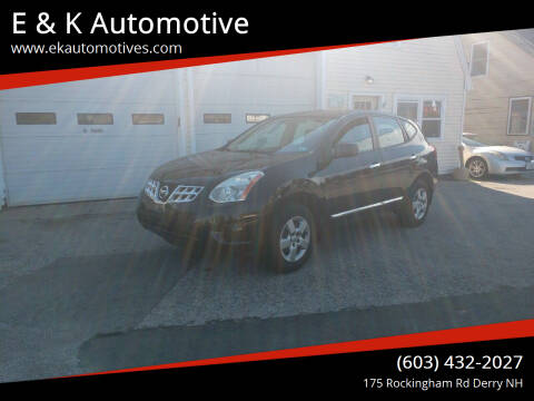 2011 Nissan Rogue for sale at E & K Automotive in Derry NH