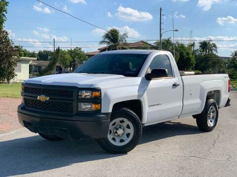 2015 Chevrolet Silverado 1500 for sale at Citywide Auto Group LLC in Pompano Beach FL