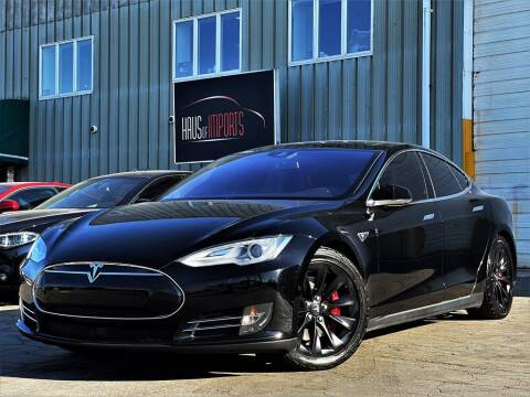 2016 Tesla Model S for sale at Haus of Imports in Lemont IL