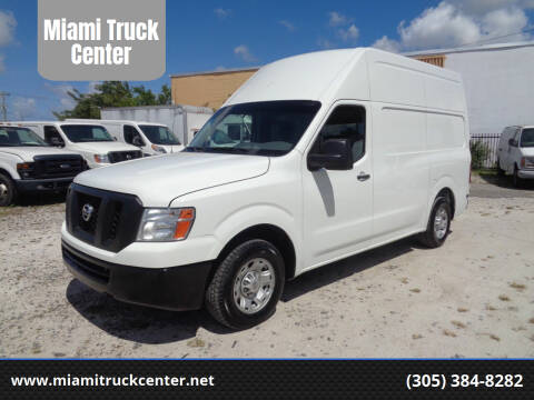 2013 Nissan NV Cargo for sale at Miami Truck Center in Hialeah FL