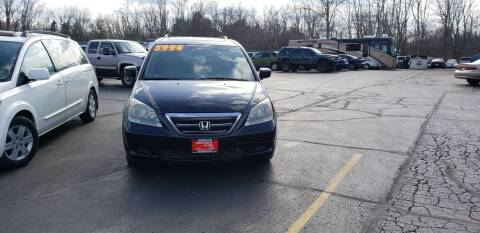 2007 Honda Odyssey for sale at Righteous Autos in Racine WI