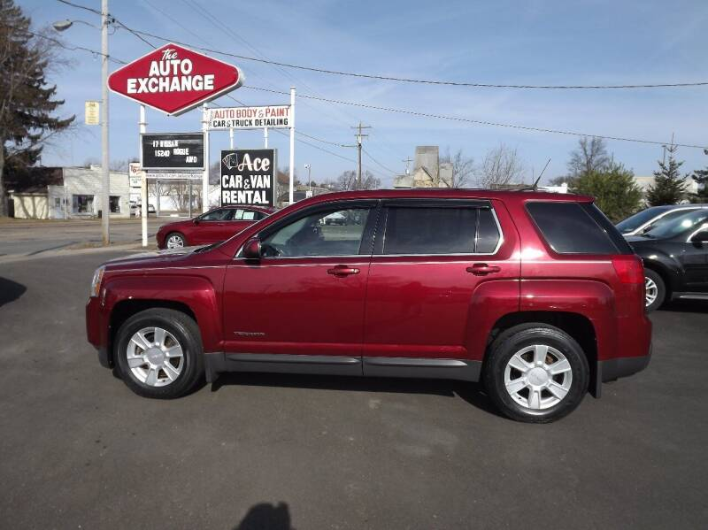 2011 GMC Terrain for sale at The Auto Exchange in Stevens Point WI