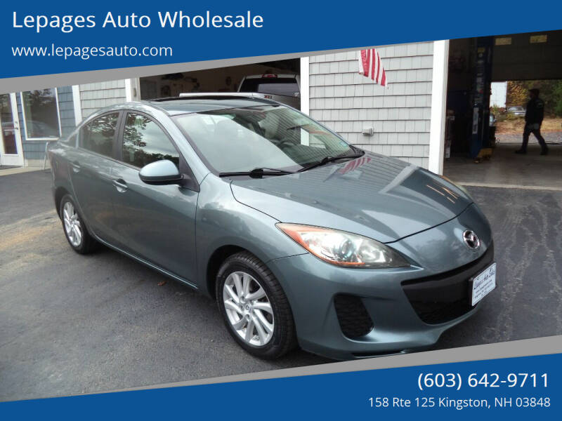 2012 Mazda MAZDA3 for sale at Lepages Auto Wholesale in Kingston NH