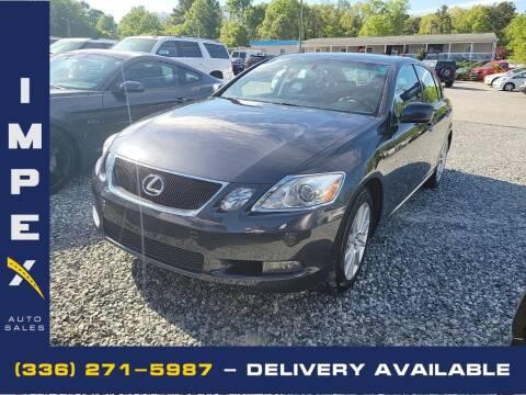 2007 Lexus GS 350 for sale at Impex Auto Sales in Greensboro NC