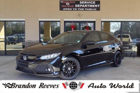 2017 Honda Civic for sale at Brandon Reeves Auto World in Monroe NC