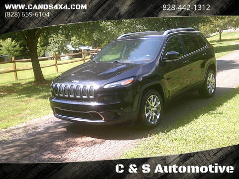 2014 Jeep Cherokee for sale at C & S Automotive in Nebo NC