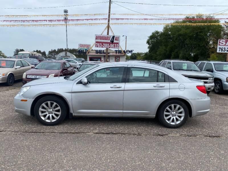 2010 Chrysler Sebring for sale at Affordable 4 All Auto Sales in Elk River MN