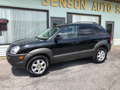 2005 Hyundai Tucson for sale at Superior Auto Sales in Duncansville PA