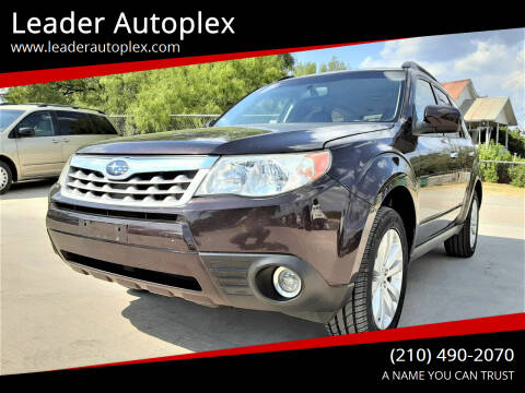 2013 Subaru Forester for sale at Leader Autoplex in San Antonio TX