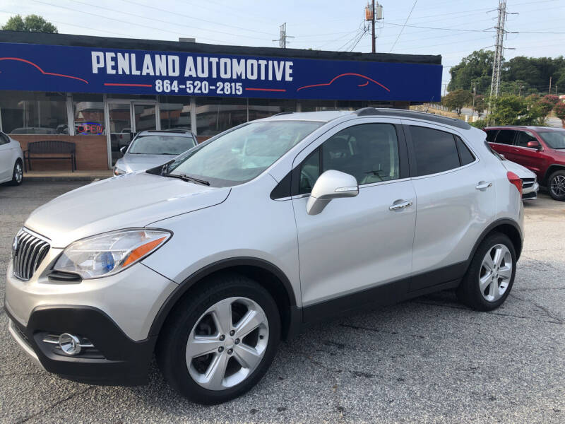 2015 Buick Encore for sale at Penland Automotive Group in Laurens SC