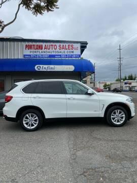 2015 BMW X5 for sale at PORTLAND AUTO SALES LLC. in Portland OR
