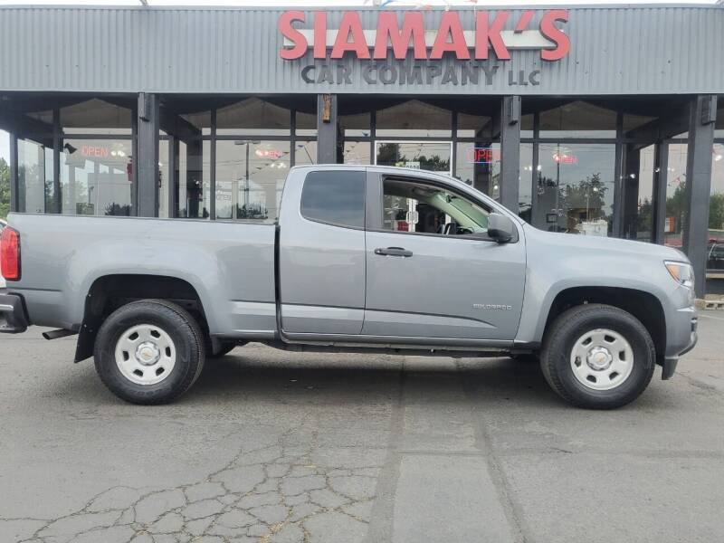 2018 Chevrolet Colorado for sale at Siamak's Car Company llc in Salem OR