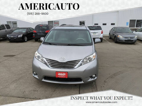2013 Toyota Sienna for sale at AmericAuto in Des Moines IA