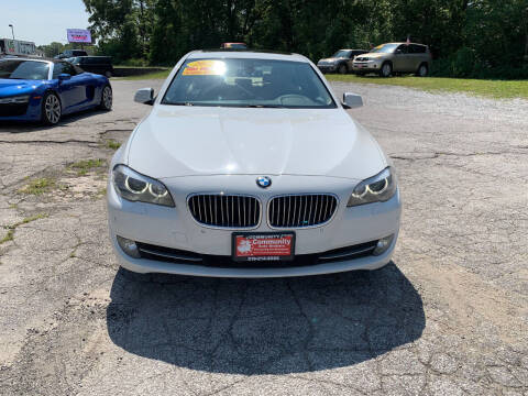 2011 BMW 5 Series for sale at Community Auto Brokers in Crown Point IN