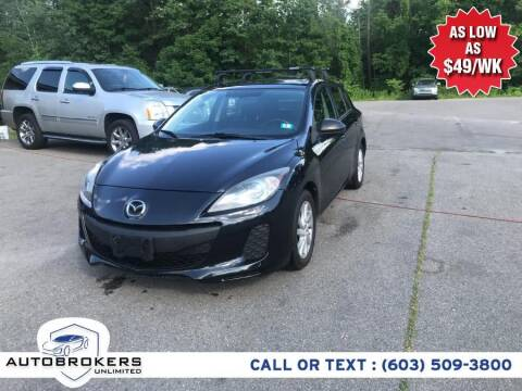 2012 Mazda MAZDA3 for sale at Auto Brokers Unlimited in Derry NH