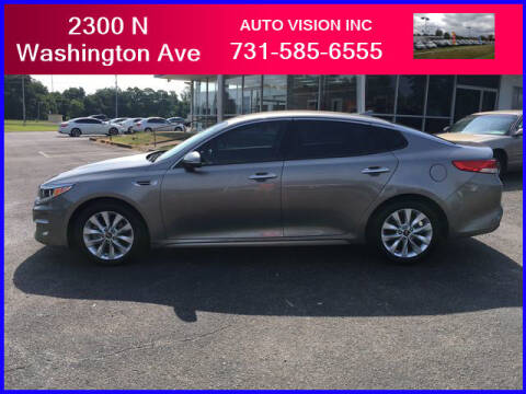 2017 Kia Optima for sale at Auto Vision Inc. in Brownsville TN