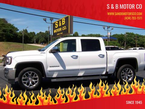 2018 GMC Sierra 1500 for sale at S & B MOTOR CO in Danville VA