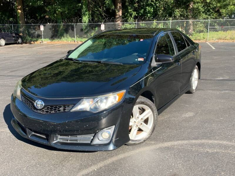2012 Toyota Camry for sale at Elite Auto Sales in Stone Mountain GA