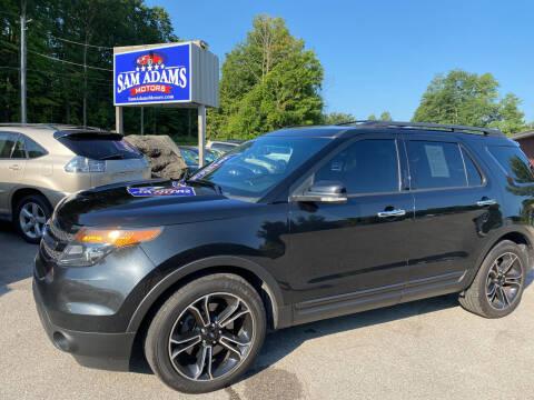 2013 Ford Explorer for sale at Sam Adams Motors in Cedar Springs MI