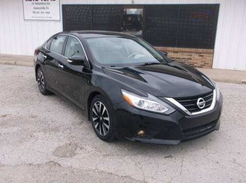 2017 Nissan Altima for sale at AUTO TOPIC in Gainesville TX