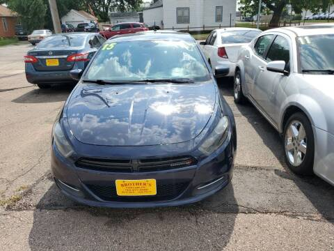 2015 Dodge Dart for sale at Brothers Used Cars Inc in Sioux City IA