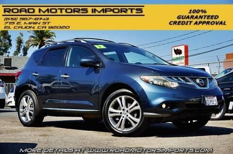 2011 Nissan Murano for sale at Road Motors Imports in El Cajon CA