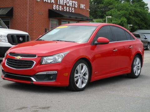 2015 Chevrolet Cruze for sale at A & A IMPORTS OF TN in Madison TN