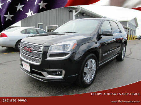2013 GMC Acadia for sale at Lifetime Auto Sales and Service in West Bend WI