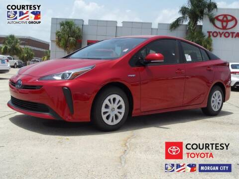2020 Toyota Prius for sale at Courtesy Toyota & Ford in Morgan City LA