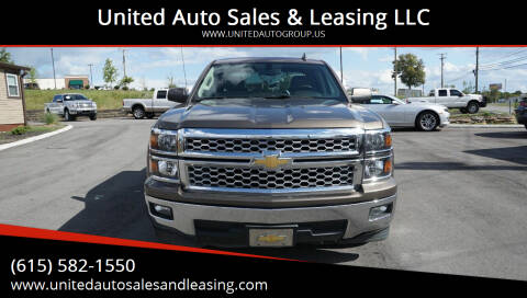 2015 Chevrolet Silverado 1500 for sale at United Auto Sales & Leasing LLC in La Vergne TN