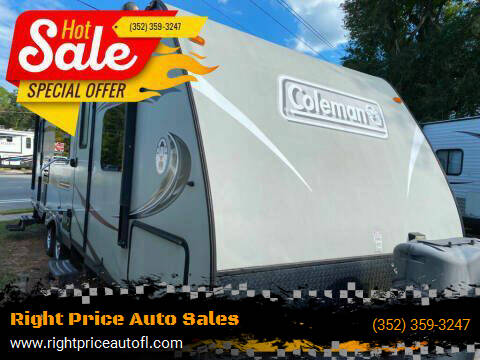 2014 Coleman 249RB for sale at Right Price Auto Sales-Gainesville Trailers in Gainesville FL