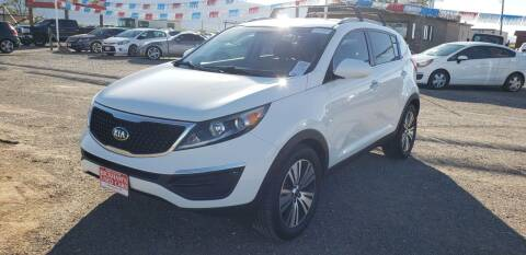 2016 Kia Sportage for sale at Bickham Used Cars in Alamogordo NM