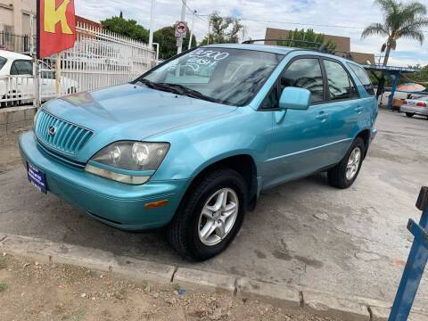 1999 Lexus RX 300 for sale at Olympic Motors in Los Angeles CA