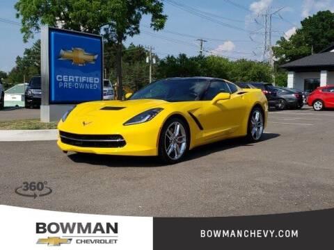 2014 Chevrolet Corvette for sale at Bowman Auto Center in Clarkston MI