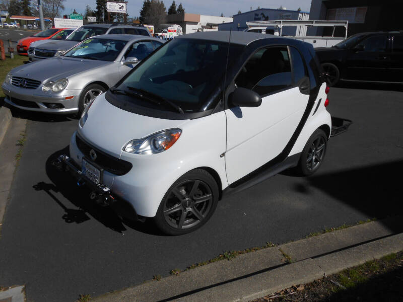2013 Smart fortwo for sale at Sutherlands Auto Center in Rohnert Park CA