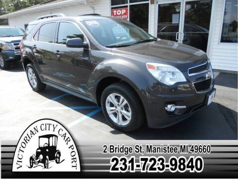 2015 Chevrolet Equinox for sale at Victorian City Car Port INC in Manistee MI