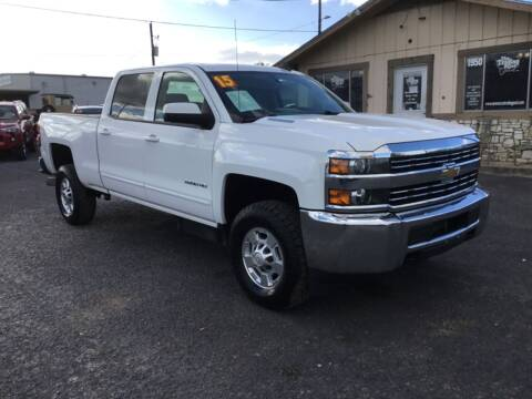 2015 Chevrolet Silverado 2500HD for sale at The Trading Post in San Marcos TX