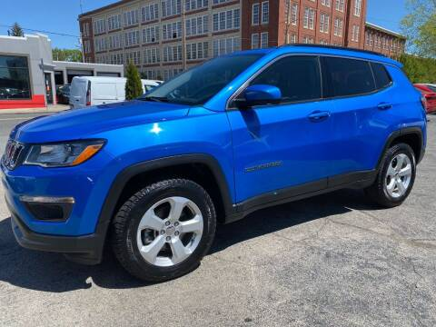 2018 Jeep Compass for sale at Mass Auto Exchange in Framingham MA