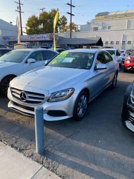 2015 Mercedes-Benz C-Class for sale at 2955 FIRESTONE BLVD - 3271 E. Firestone Blvd Lot in South Gate CA