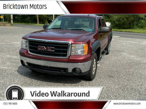 2008 GMC Sierra 1500 for sale at Bricktown Motors in Brick NJ