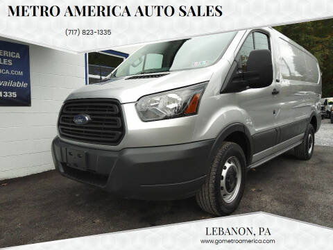 2016 Ford Transit Cargo for sale at METRO AMERICA AUTO SALES of Lebanon in Lebanon PA