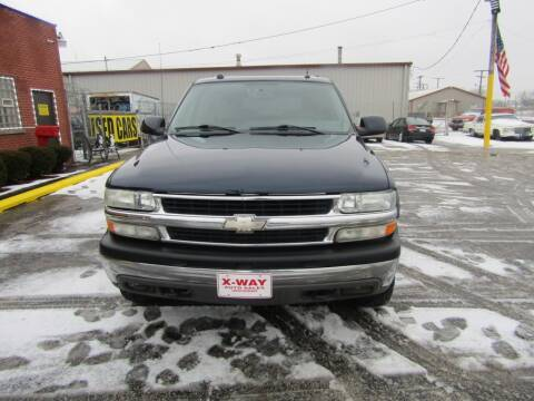 2004 Chevrolet Suburban for sale at X Way Auto Sales Inc in Gary IN