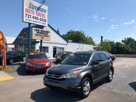 2010 Honda CR-V for sale at Sunray Auto Sales Inc. in Holiday FL