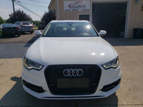 2013 Audi A6 for sale at Exclusive Automotive in West Chester OH
