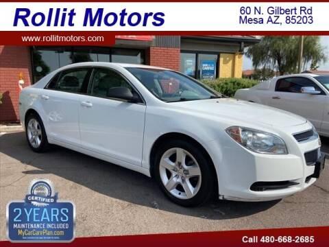 2011 Chevrolet Malibu for sale at Rollit Motors in Mesa AZ